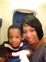 Matthew's 1st flight @ age 2